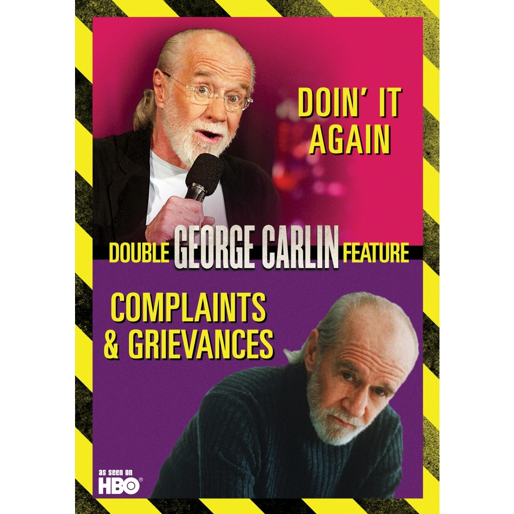George Carlin Double Feature:Complain (Dvd)