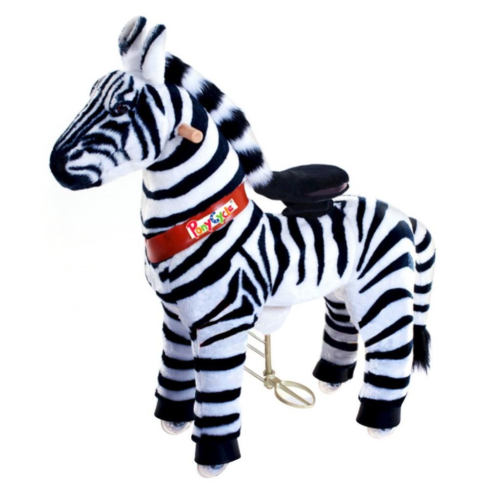 Pony Cycle Zebra Ride On Toy