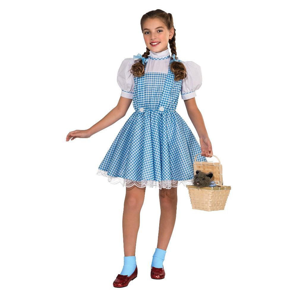The Wizard of Oz Kids' Dorothy Costume Small (4-6), Girl's, Size: S(4-6)