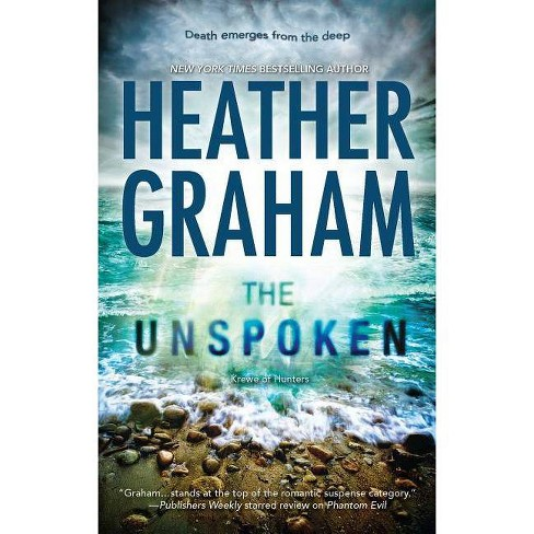The Unspoken - (Krewe of Hunters) by  Heather Graham (Paperback) - image 1 of 1