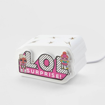 L.O.L. Surprise! Ceramic Novelty Lamp Pink