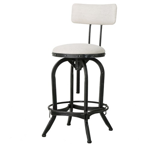 Stirling Adjustable Barstool - Christopher Knight Home - image 1 of 4