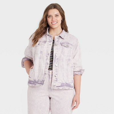 Women's Long Sleeve Denim Jacket - Universal Thread™