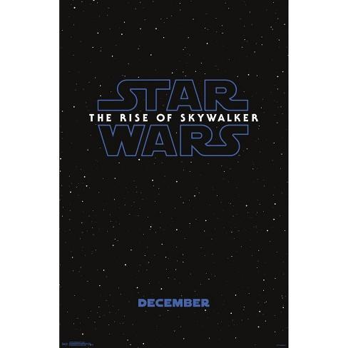 "34""x23"" The Rise of Skywalker Logo Unframed Wall Poster Print - Trends International - image 1 of 2"