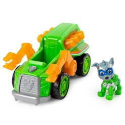 Paw Patrol Mighty Pups Toy Vehicle Deluxe Vehicle - Rocky