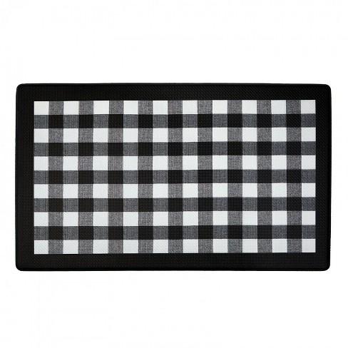 1 5 X2 5 Rectangle Floor Mat Black Goodgram Target