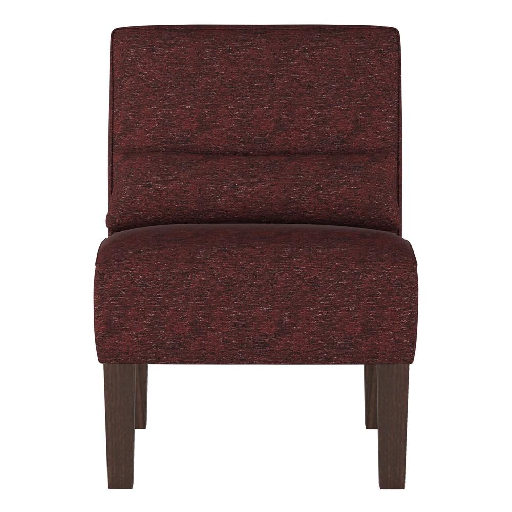 Burke Slipper Chair Churchill Oxblood - Threshold