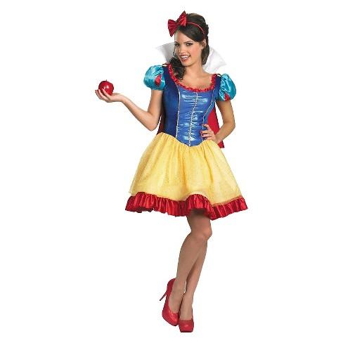 Disney Women's Snow White Deluxe Costume X-Large - image 1 of 1