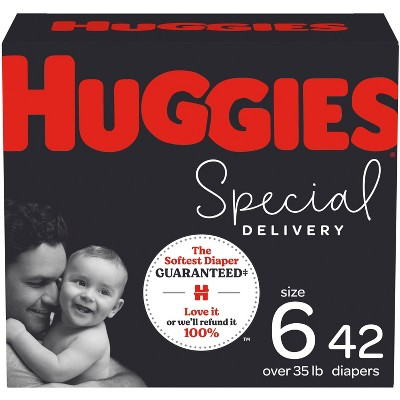 Huggies Special Delivery Hypoallergenic Baby Disposable Diapers Super Pack - Size 6 - 42ct