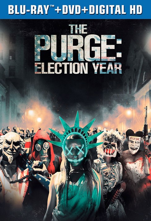 The Purge: Election Year (Blu-ray + DVD + Digital) - image 1 of 1