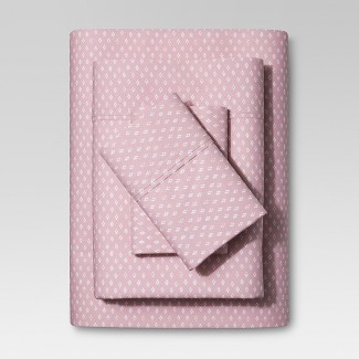 Organic Cotton Sheet Set (King) Pink 300 Thread Count  - Threshold™
