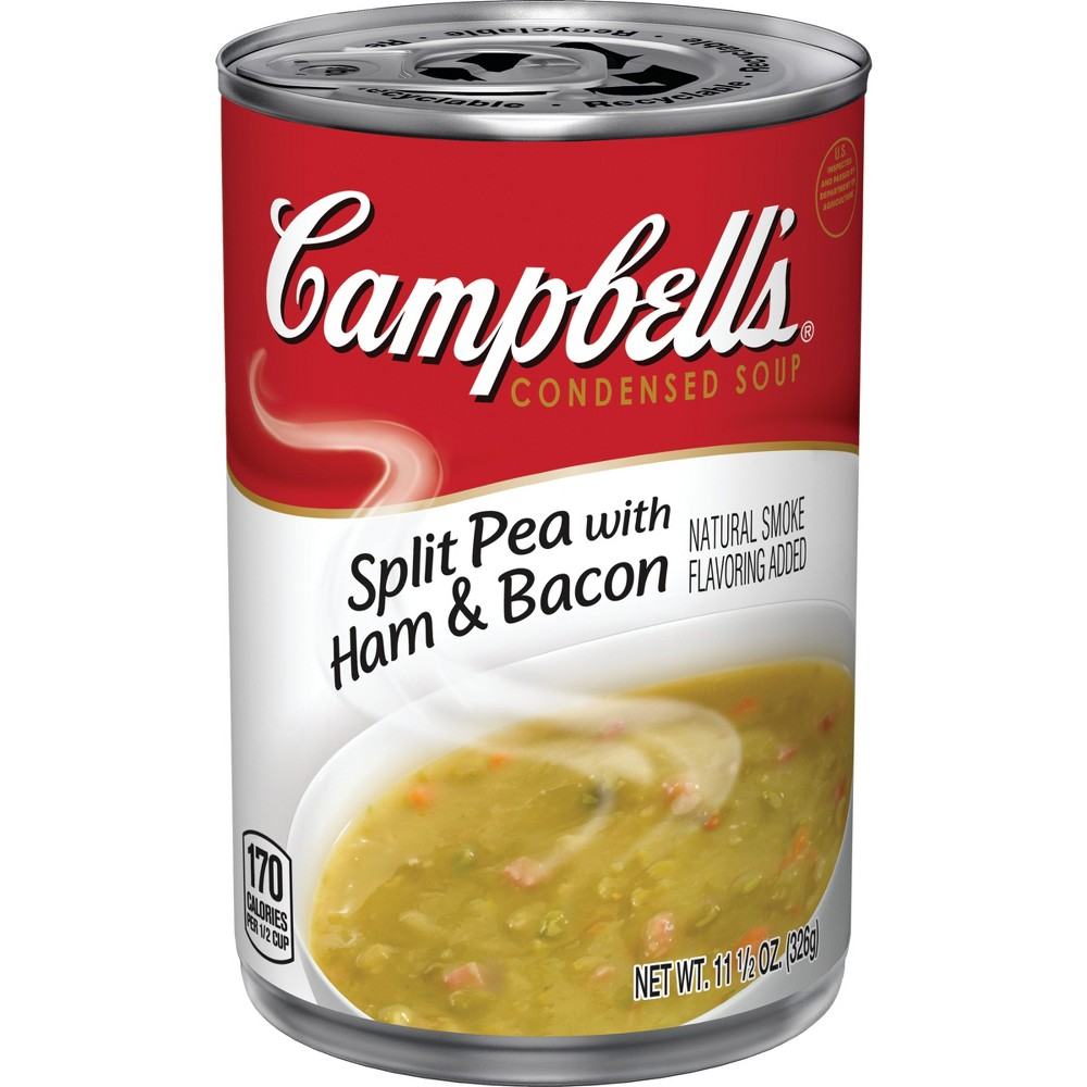 Campbell's Condensed Split Pea with Ham & Bacon Soup 11.5 oz