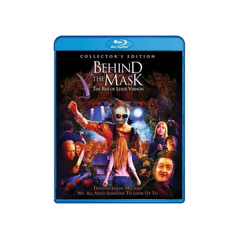 Behind The Mask The Rise Of Leslie Vernon Blu Ray 2018