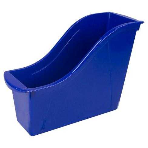 Storex® Small Book Bin 6ct - Blue - image 1 of 2