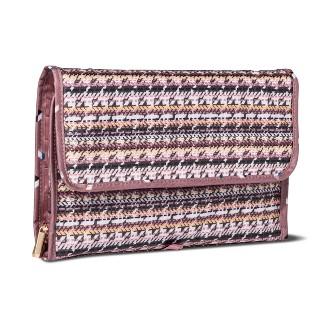 Sonia Kashuk™ Cosmetic Bag Hanging Organizer Valet Broken Houndstooth
