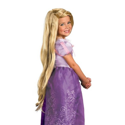 Kids' Disney Princess Rapunzel Halloween Wig - image 1 of 4