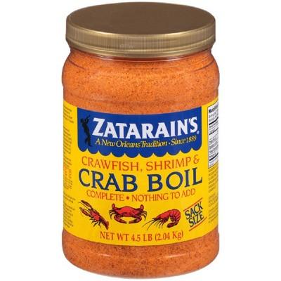 Zatarain's Complete Crawfish, Shrimp & Crab Boil Spice - 73oz