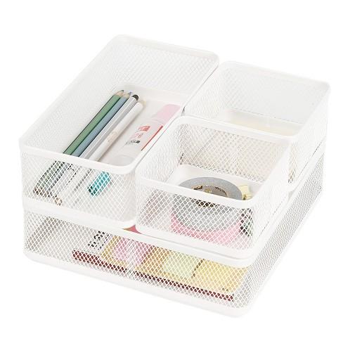 Mesh Desk Organizer White - Made By Design™ - image 1 of 4