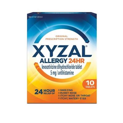 Allergy & Sinus: Xyzal Allergy Tablets
