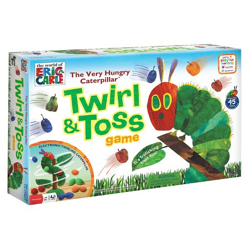 University Games The Very Hungry Caterpillar Twirl and Toss Game - image 1 of 3