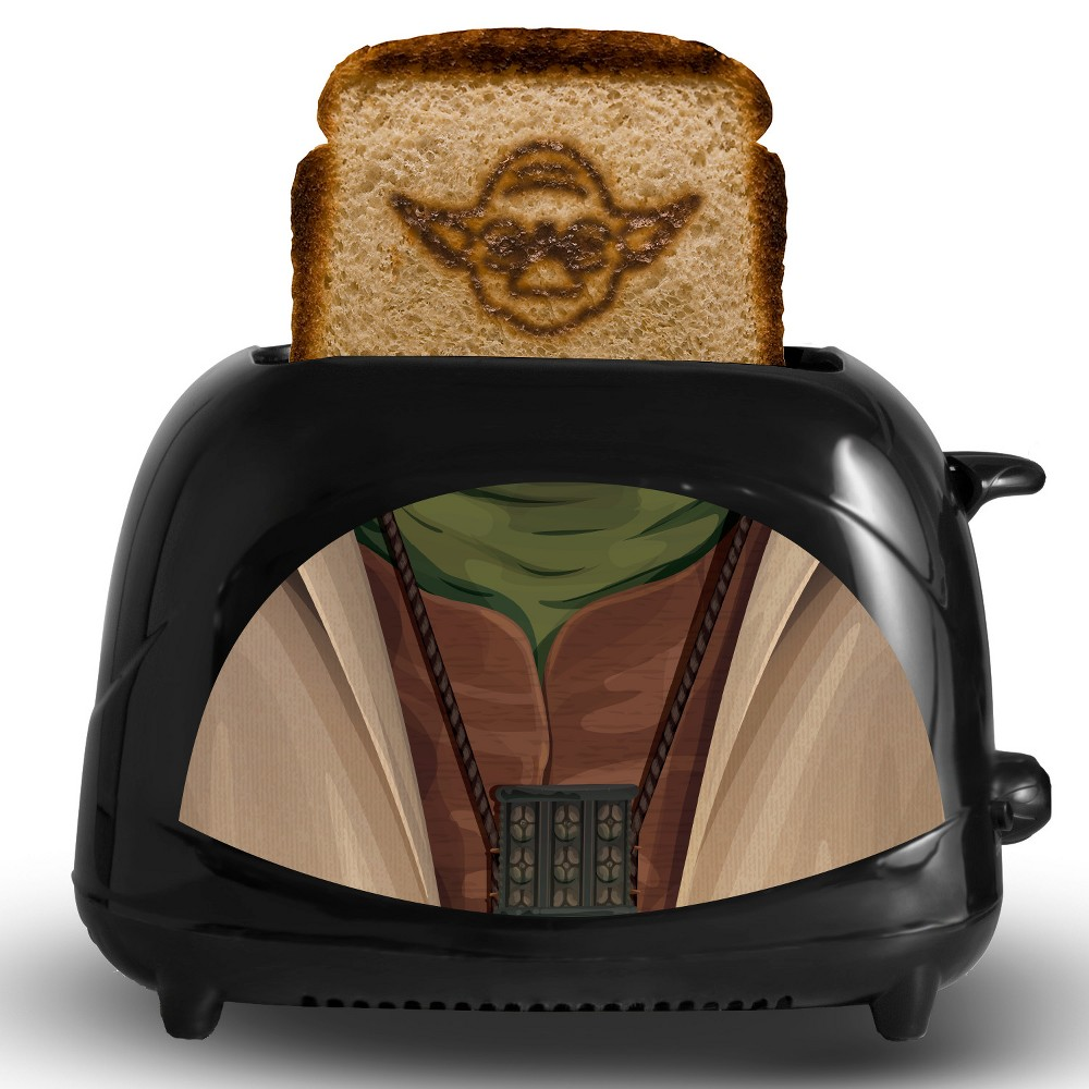 Star Wars Yoda Toaster, Black