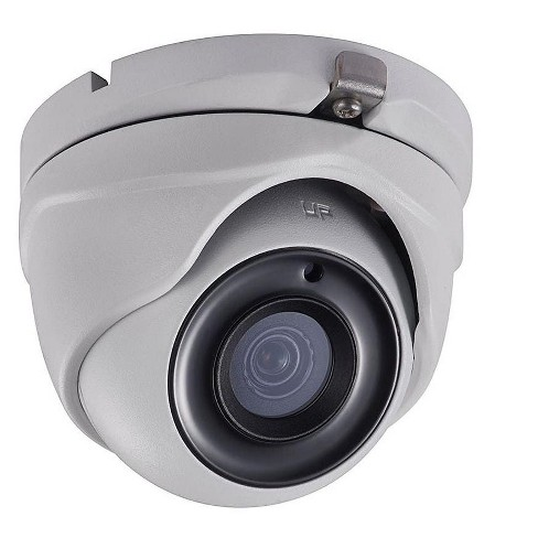 Monoprice 5MPHD-TVI Turret Security Camera 2560x1944@20fps - White With a 2.8mm Fixed Lens, Matrix IR 2.0, Night/Day Color Vision, And IP66 - image 1 of 1