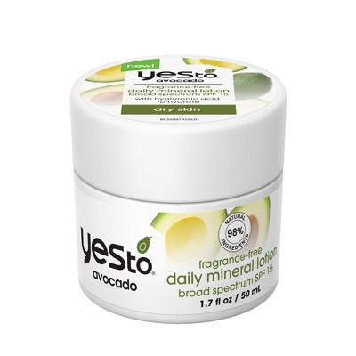 Yes To Avocado Daily Moisturizer with SPF 15 - Unscented - 1.7 fl oz