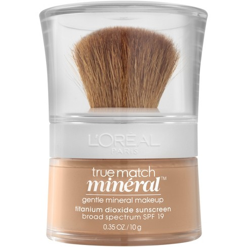 L'Oreal® Paris True Match Mineral Foundation - Medium Shades - 0.35oz - image 1 of 4
