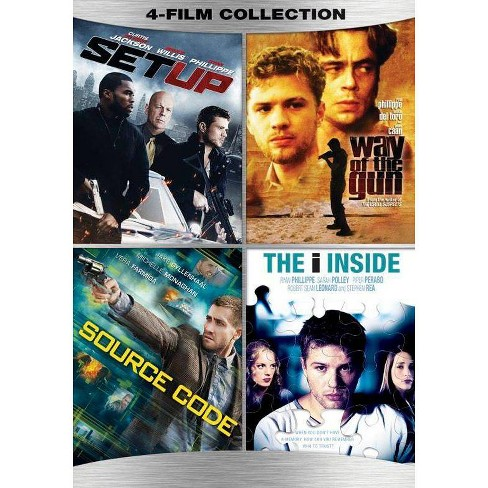 Action 4-Film Collection (DVD) - image 1 of 1