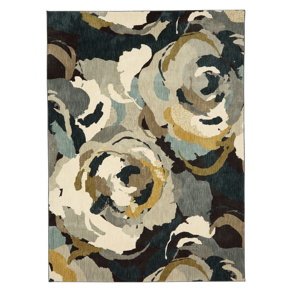 8'x11' Floral Woven Area Rug - Karastan, Multicolored