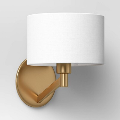 Modern Arm Wall Sconce Brass - Project 62™