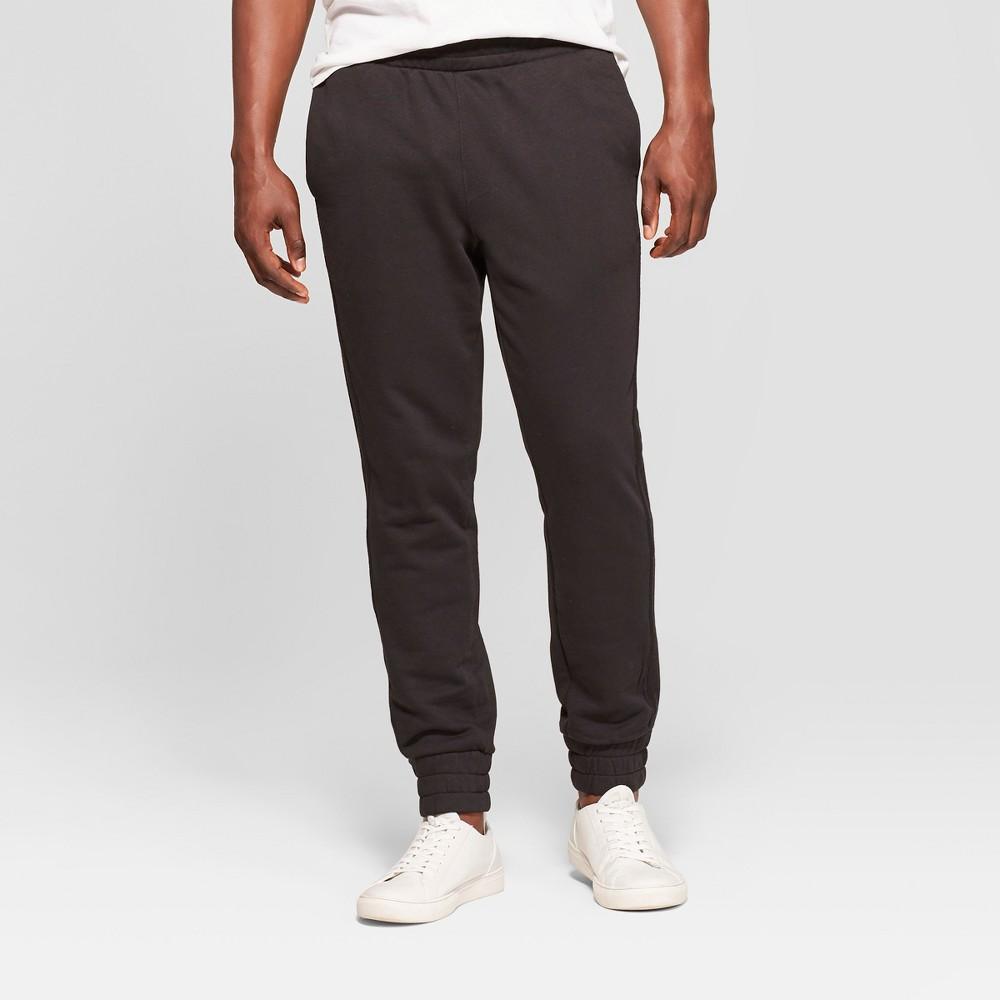Men's Stretch Regular Fit Jogger Pants - Goodfellow & Co Black S