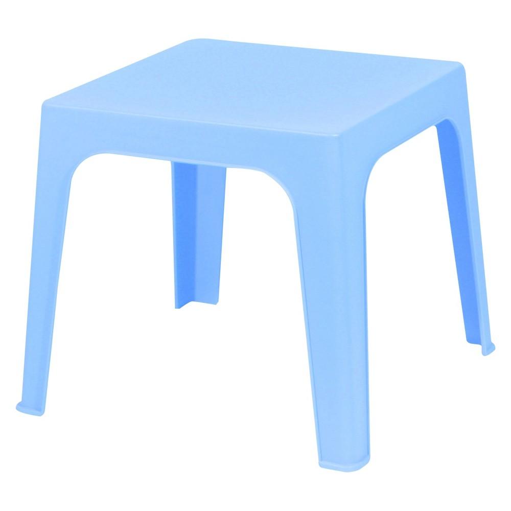 Julieta Square Kids Patio Table - Blue - Resol