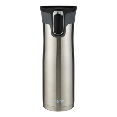Contigo® AUTOSEAL® West Loop Stainless Travel Mug with Open-Access Lid - Gunmetal (16 oz)