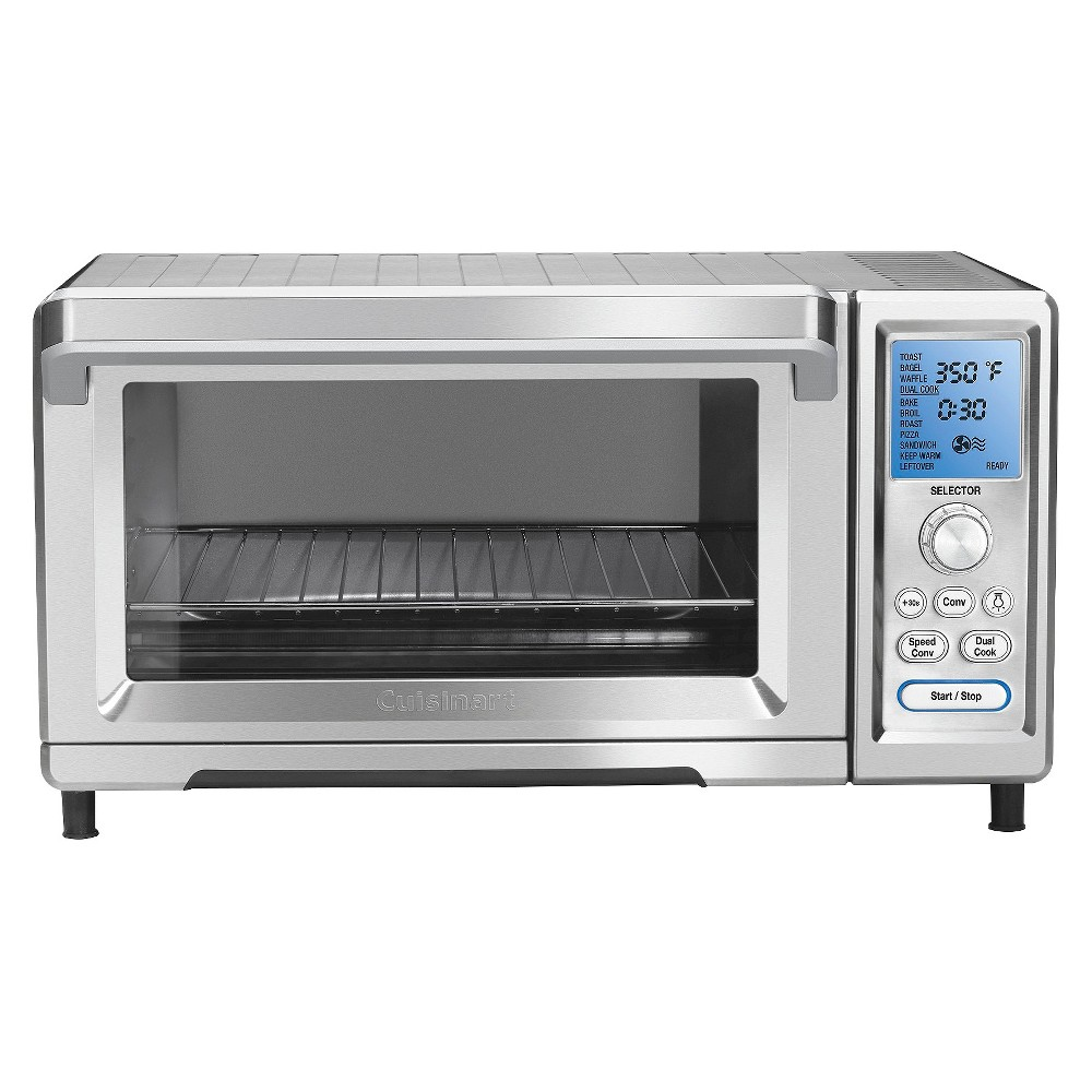 Cuisinart Toaster Oven (Silver) Tob-260N