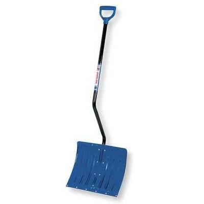 "TRUE TEMPER 1638900 18"" Aluminum  Snow Shovel with 39"" Steel Handle"