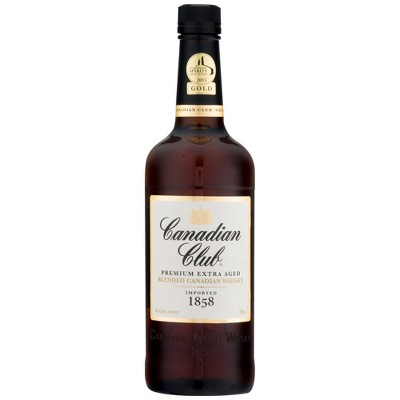 Canadian Club Canadian Whisky - 750ml Bottle