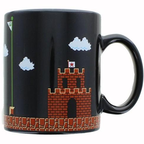 Super Mario Collectibles | Super Mario 8-Bit Boss Black Ceramic ...