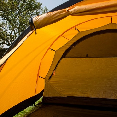 4dfe76cae Snugpak Journey Quad 4 Person Tent, Waterproof, Windproof, Sunburst Orange