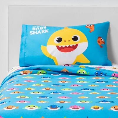 Pinkfong Baby Shark Twin Shark City Sheet Set