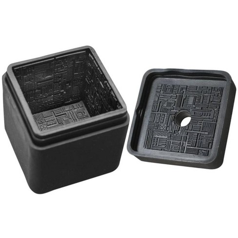 Diamond Comic Distributors, Inc. Star Trek The Next Generation Borg Cube Silicone Ice Cube Tray - image 1 of 1