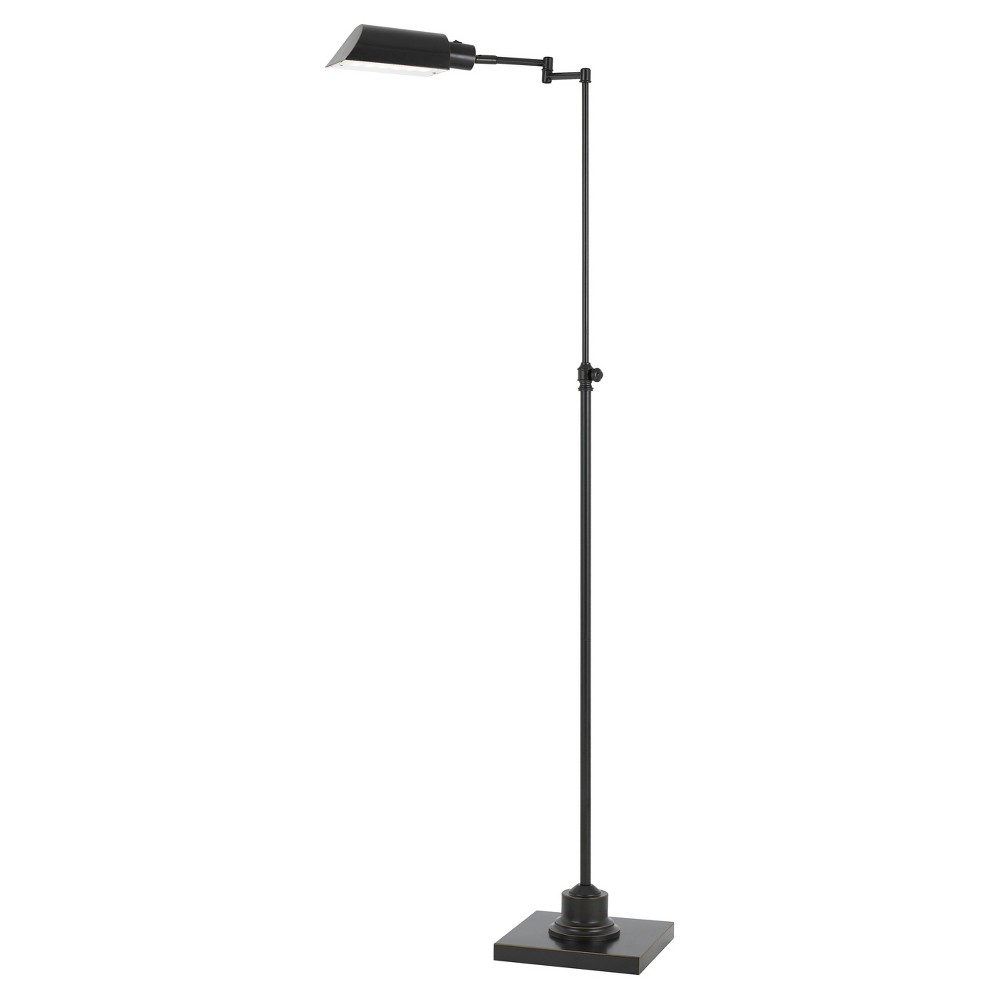 Integrated Led Adjustable Pharmacy Floor Lamp 10w Bronze (Includes Energy Efficient Light Bulb) - Cal Lighting