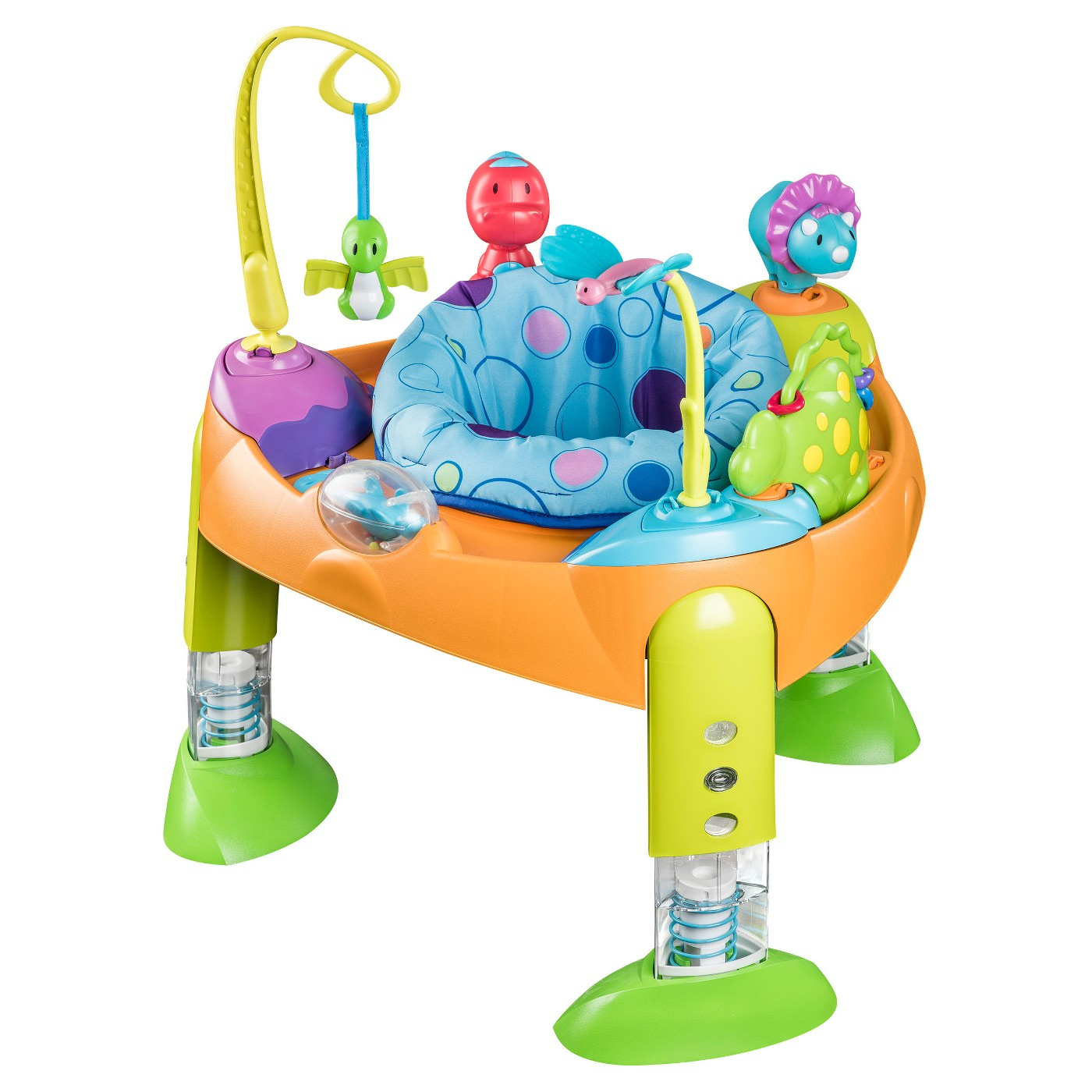 Evenflo® ExerSaucer Fast Fold & Go - Bouce-a-Saurus - image 1 of 4