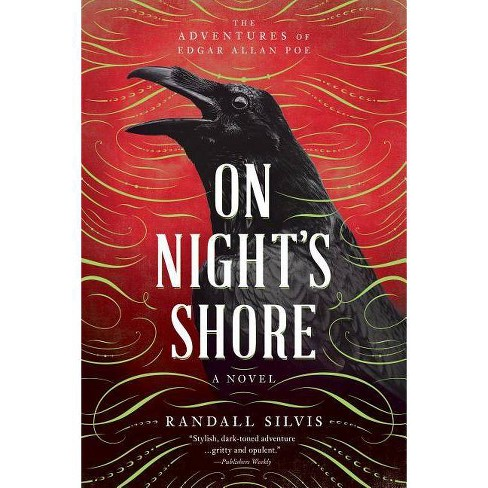 On Night's Shore - (Edgar Allan Poe Mysteries) by  Randall Silvis (Paperback) - image 1 of 1