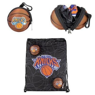 "NBA New York Knicks 9"" Drawstring Bag"