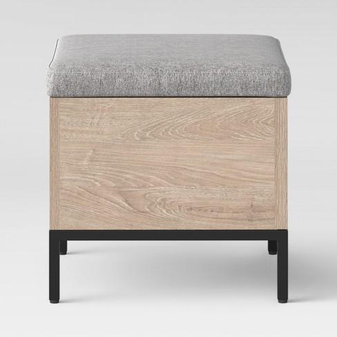 Terrific Loring Storage Cube Vintage Oak Project 62 Machost Co Dining Chair Design Ideas Machostcouk