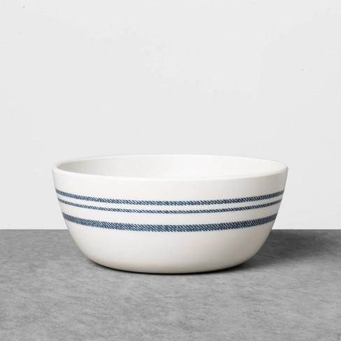 Cereal Bowl Melamine Americana Blue Stripe - Hearth & Hand™ with Magnolia - image 1 of 2