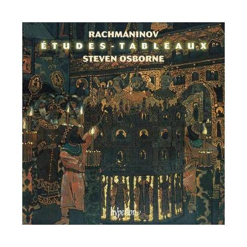 Steven Osborne - Rachmanubiv: Etudes-tableaux Opp. 33 & 39 (CD) - image 1 of 1