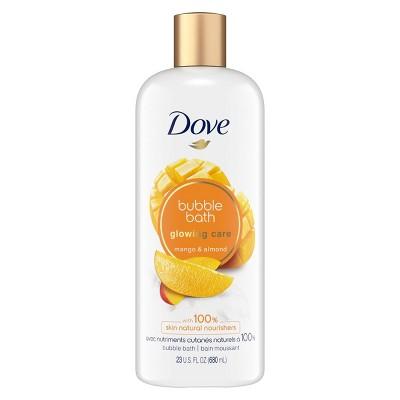 Dove Nourishing Secrets Glowing Ritual Sulfate Free Bubble Bath Mango & Almond - 23 fl oz