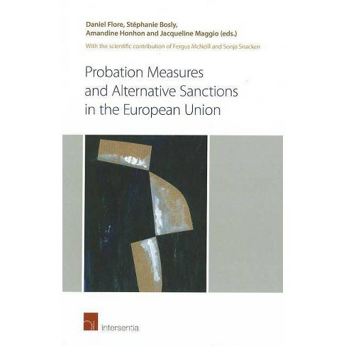 Probation Measures and Alternative Sanctions in the European Union - (Paperback) - image 1 of 1